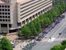 De vrolijke Parade van Rechten Stock Foto's