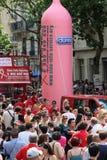 De Vrolijke Trots 2010 van Parijs Stock Foto