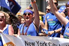 De Vrolijke Trots 2014, de stad van New York, de V.S. Stock Afbeeldingen