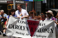 De Vrolijke Trots 2014, de stad van New York, de V.S. Royalty-vrije Stock Foto's