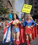 De Vrolijke Trots Maart 2010 van New York Stock Foto's