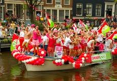 De Vrolijke Trots 2014 van Amsterdam Stock Afbeeldingen