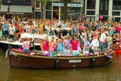 De Vrolijke Trots 2014 van Amsterdam Royalty-vrije Stock Afbeelding