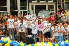 De Vrolijke Trots 2014 van Amsterdam Stock Afbeelding