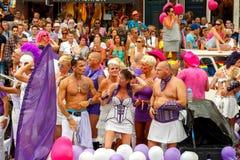 De Vrolijke Trots 2014 van Amsterdam Royalty-vrije Stock Foto's