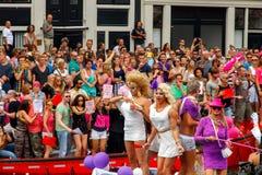 De Vrolijke Trots 2014 van Amsterdam Stock Foto