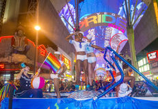 De vrolijke trots van Las Vegas Royalty-vrije Stock Foto