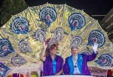 De vrolijke trots van Las Vegas Stock Fotografie