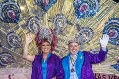 De vrolijke trots van Las Vegas Stock Afbeelding