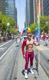 De vrolijke trots van San Francisco Royalty-vrije Stock Afbeelding