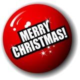 De vrolijke Vector van het Gebied van Kerstmis Speciale 3-D Stock Foto