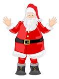 De vrolijke vector van Kerstmis Royalty-vrije Stock Foto's