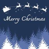 De vrolijke vector van de Kerstmisillustratie Stock Fotografie