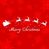 De vrolijke vector van de Kerstmisillustratie Royalty-vrije Stock Foto
