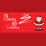 De vrolijke vectorillustratie van het Kerstmisbeeldverhaal Royalty-vrije Stock Afbeeldingen