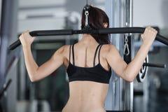 Oefeningen om de spieren van de rug te versterken Royalty-vrije Stock Afbeelding