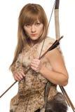 De vrouw de militair Royalty-vrije Stock Foto's