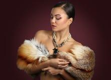 De vrouw maakt omhoog schoonheid Royalty-vrije Stock Foto