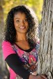 De Vrouw van Afro Royalty-vrije Stock Foto's