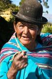 De vrouw van Ajmara Stock Afbeelding