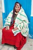 De vrouw van Berber stock afbeelding