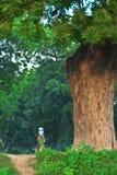 De Vrouw van Butanese Royalty-vrije Stock Afbeelding