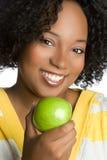 De Vrouw van de appel Royalty-vrije Stock Fotografie
