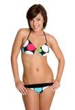 De Vrouw van de bikini Stock Foto