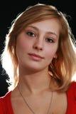 De vrouw van de blonde Royalty-vrije Stock Foto