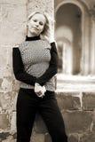 De vrouw van de blonde Royalty-vrije Stock Afbeelding