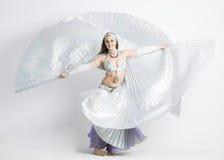 De vrouw van de buikdanser Royalty-vrije Stock Afbeeldingen