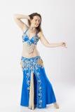 De vrouw van de buikdanser Royalty-vrije Stock Foto's