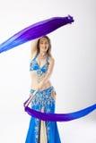 De vrouw van de buikdanser Stock Foto