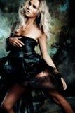 De vrouw van de fantasie Stock Foto's