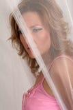 De vrouw van de geheimzinnigheid Stock Fotografie