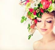 De vrouw van de lente Royalty-vrije Stock Afbeelding