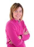 De Vrouw van de middenLeeftijd Stock Foto's