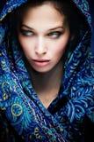 De vrouw van de mysticus Royalty-vrije Stock Afbeeldingen
