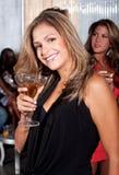 De vrouw van de partij Stock Foto