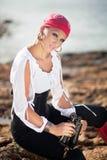 De Vrouw van de piraat Stock Foto's