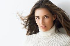 De Vrouw van de schoonheid Stock Fotografie
