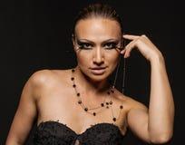 De Vrouw van de schoonheid royalty-vrije stock foto's