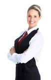 De vrouw van de serveerster Royalty-vrije Stock Afbeeldingen