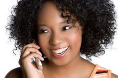 De Vrouw van de telefoon Royalty-vrije Stock Afbeeldingen