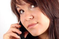 De vrouw van de telefoon #5 royalty-vrije stock foto