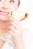 De vrouw van de wijn Royalty-vrije Stock Afbeelding