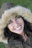 De Vrouw van de winter Stock Fotografie
