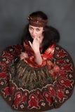 De vrouw van de zigeuner stock illustratie