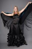 De vrouw van Flamenko Royalty-vrije Stock Afbeeldingen