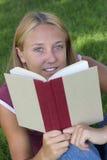 De Vrouw van het boek Royalty-vrije Stock Foto